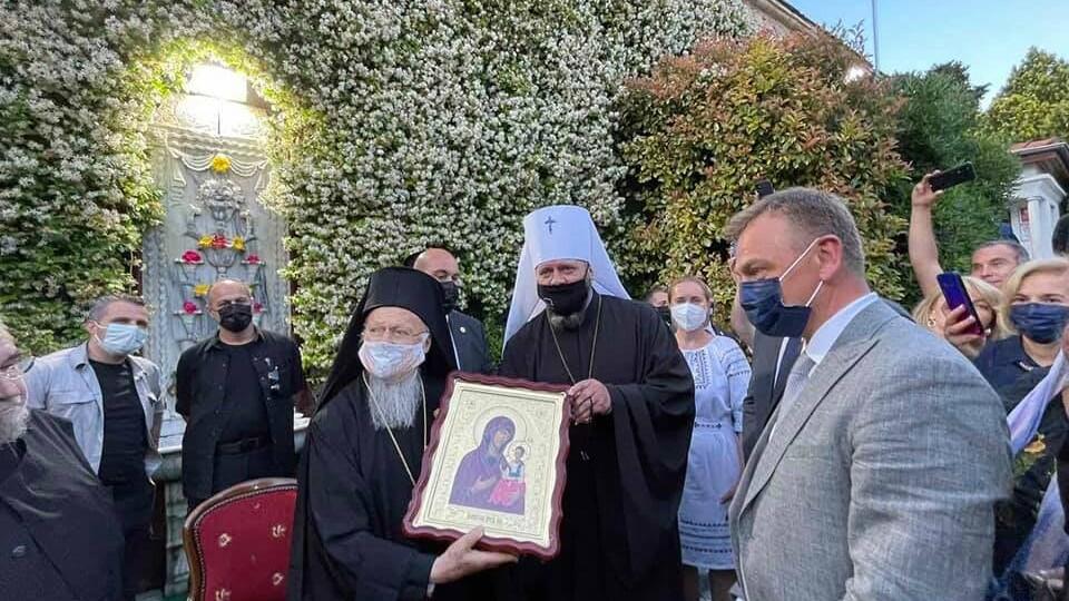 Митрополит Михаїл побував у Туреччині, де зустрівся із Вселенським Патріархом