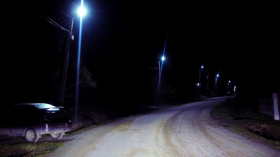 У селі на Любомльщині встановили вуличне освітлення