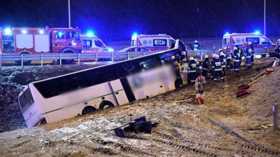 У Польщі автобус з українцями потрапив у аварію. Є загиблий і постраждалі