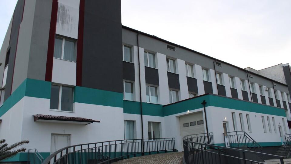 У Любомльській лікарні завершують реконструкцію приймального відділення. Фото