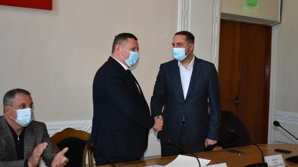 Юрія Лобача представили на посаді голови Володимир-Волинської РДА