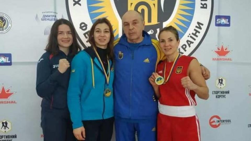 Волинська боксерка здобула «золото» на Чемпіонаті України. ФОТО