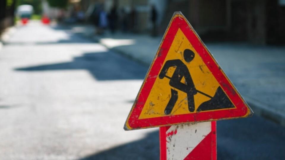 У Луцьку через ремонт теплової мережі перекрили вулицю
