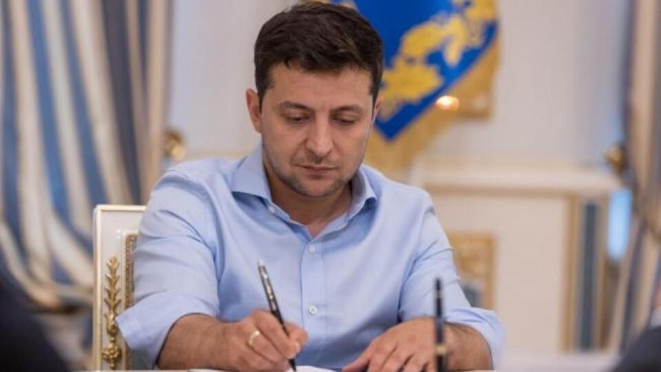 Зеленський нагородив медаллю водія з Волині