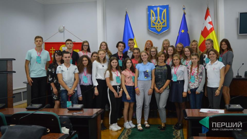 Луцька учениця реалізувала проект «Школа успіху». ФОТО