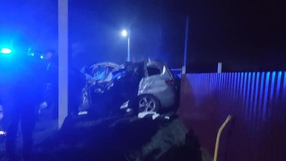 Біля Луцька – аварія. Водій загинув, пасажири в лікарні