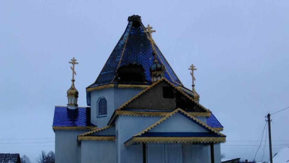 У волинському селі горіла церква