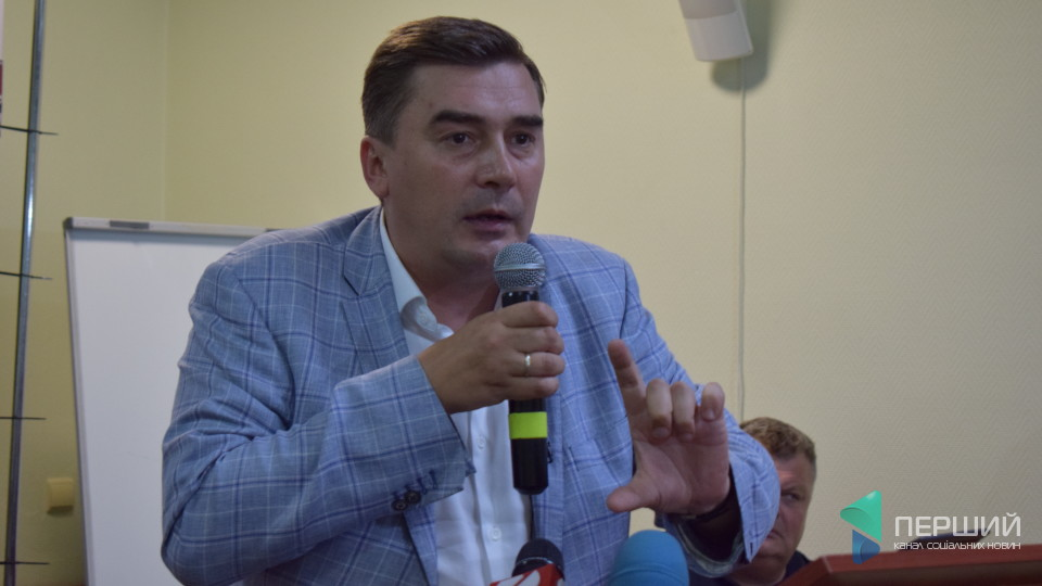 Формула успіху та вибори мера: про що у Луцьку говорив лідер партії «Народний контроль». ФОТО