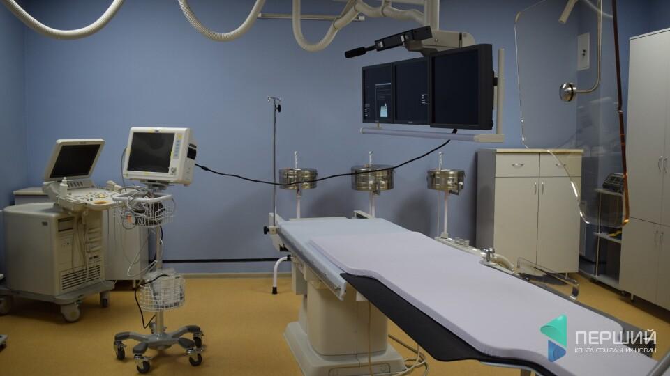 У луцькій лікарні з'явився новий ангіограф, який рятує хворих з інфарктом та інсультом