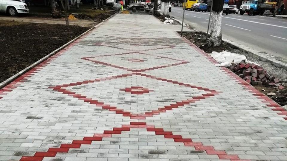 У Луцьку на Ковельській «взялися» за тротуари. ФОТО. ВІДЕО