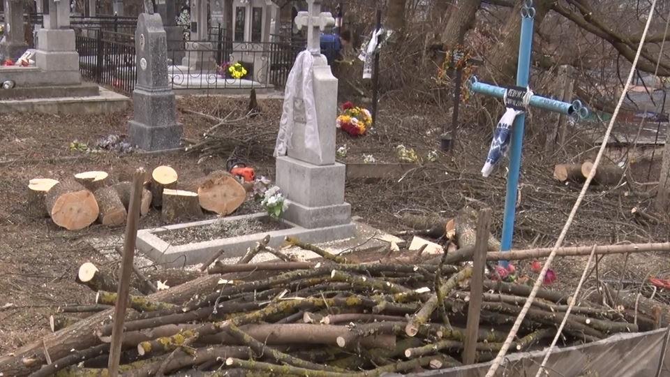 У Луцьку почали чистити кладовища. ВІДЕО