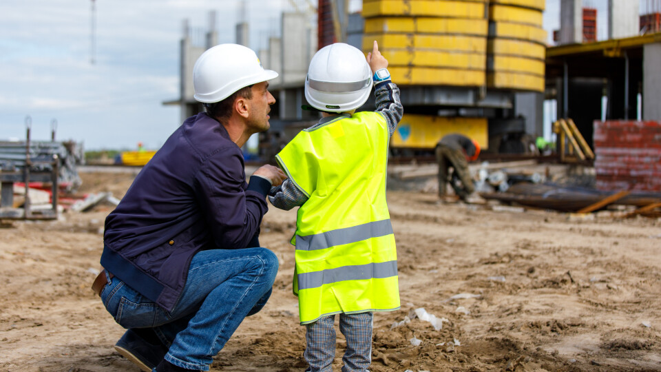 «Хочу феррарі і таунхаус». Для дітей працівників «Інвестора» провели екскурсію на будівництві