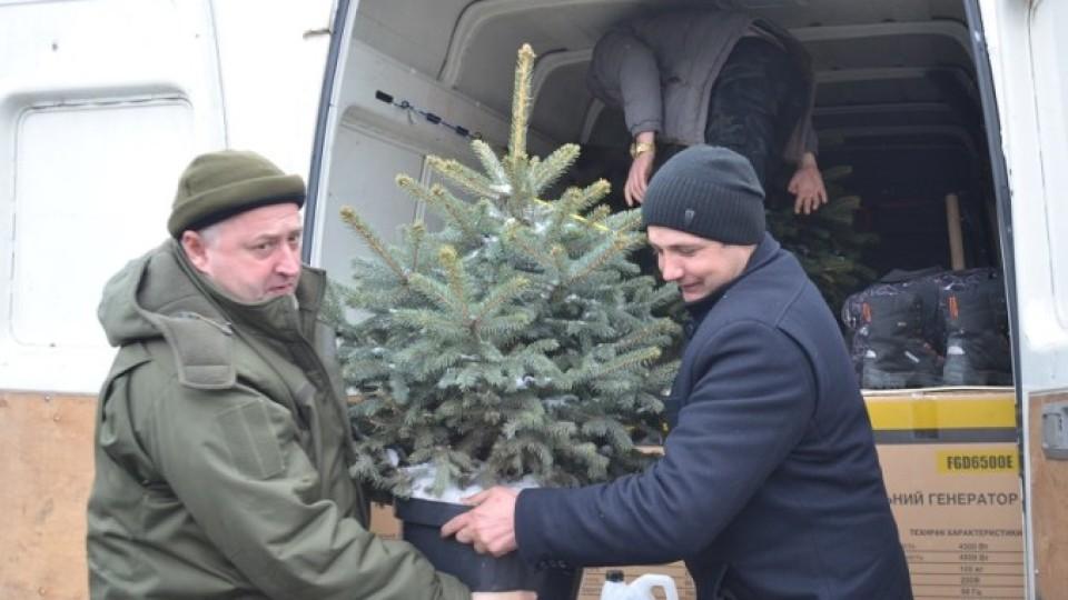 Бійці 14-ої ОМБР отримали допомогу з Волині. ФОТО