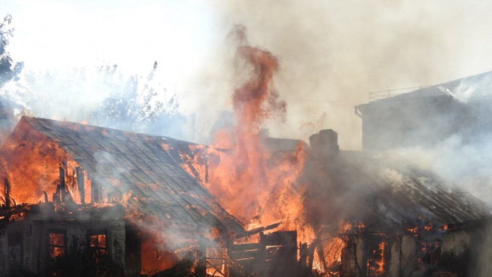 Будинок біля луцької мерії могли підпалити