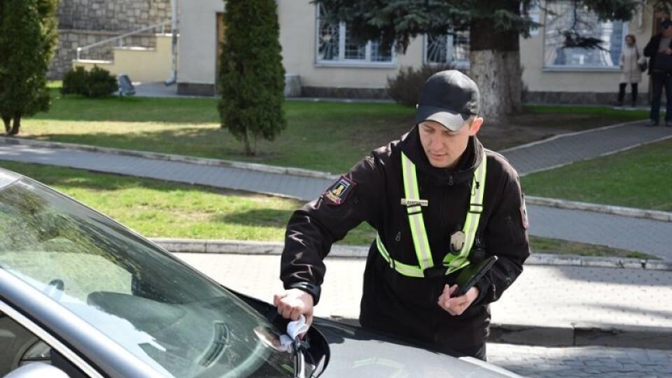 У Луцьку інспектори з паркування за два дні наштрафували на 20 тисяч гривень