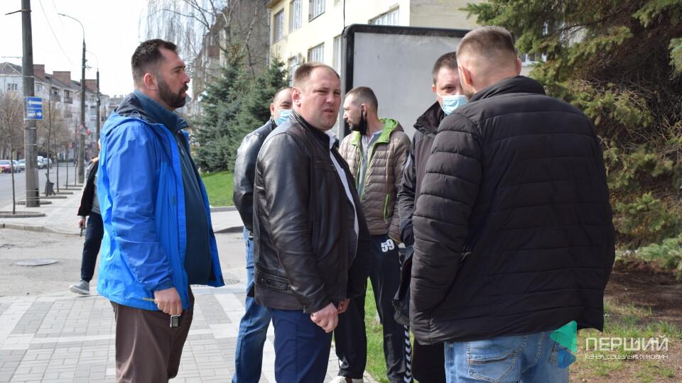 У Луцьку атовці протестують проти повернення «токсичного» керівника геокадастру. ОНОВЛЕНО