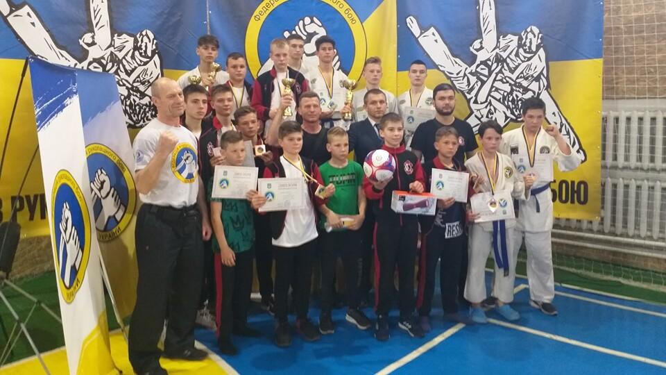 Волинська збірна виборола першість на чемпіонаті України з рукопашного бою