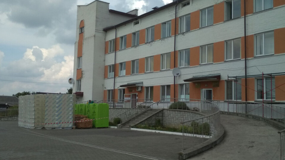 Одне з відділень Любомльської лікарні реконструйовують за євростандартами