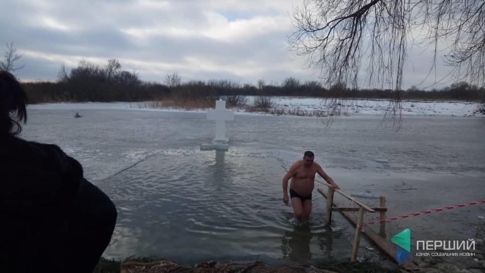У Жидичині стартували водохрещенські купання. ФОТО. ВІДЕО