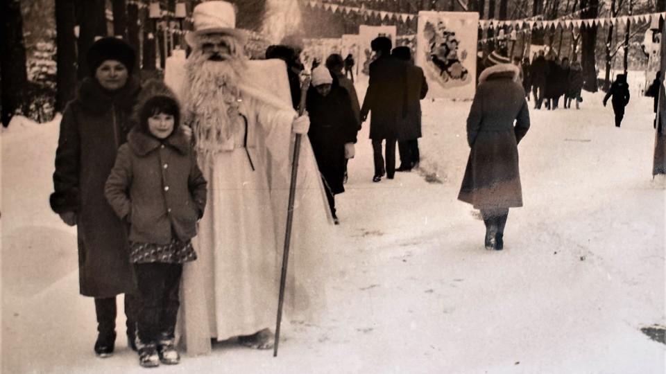 Гоголь, лозунги і Мороз: зимові розваги у Луцьку 80-х. РЕТРОФОТО