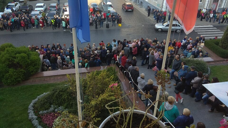 Підприємці Старого ринку скасували мітинг під стінами Луцькради