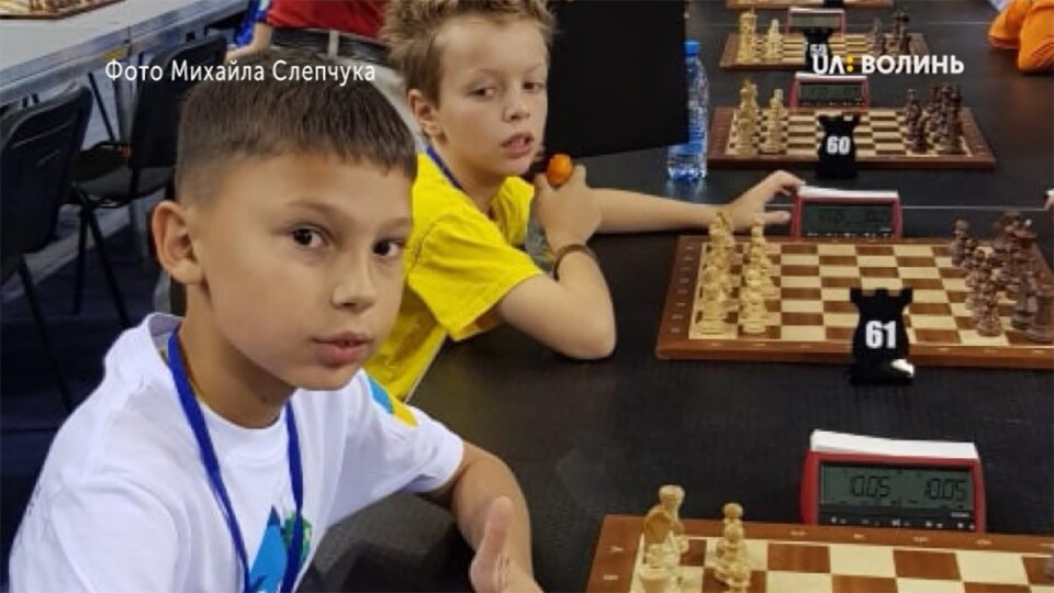 Дев'ятирічний лучанин виборов сьоме місце на Чемпіонаті світу з шахів