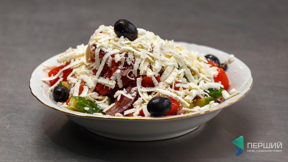 Перший на кухні: як приготувати салат «Шопський»