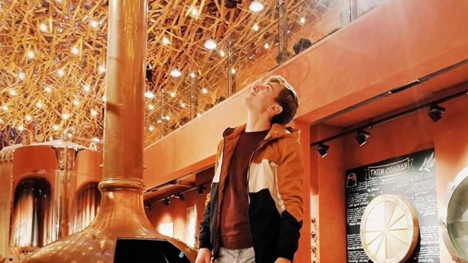 Луцький ведучий розчарувався у музеї пива