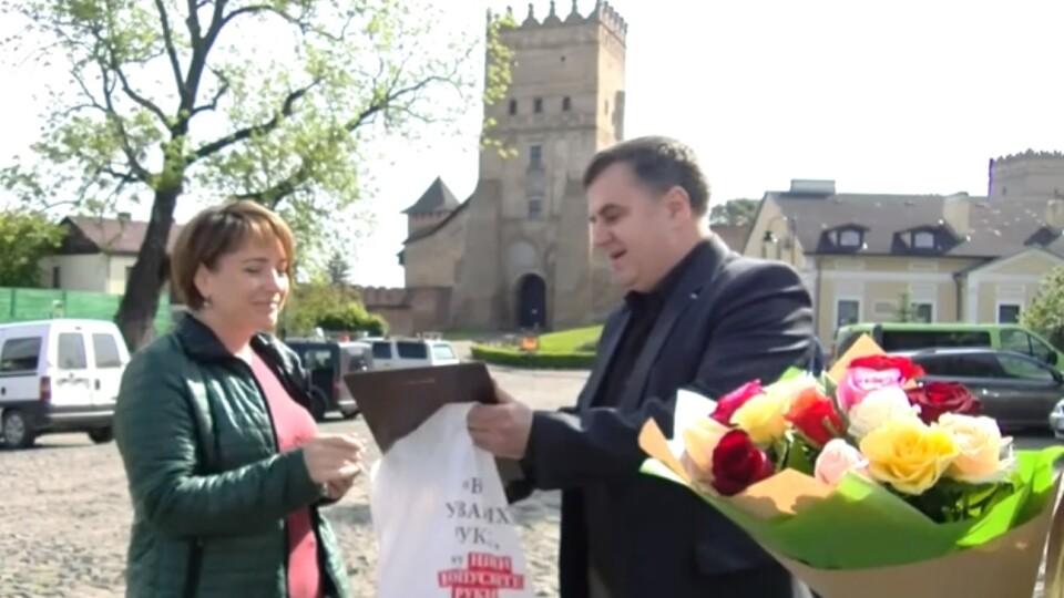 Олену Лівіцьку із «Першого» нагородили журналістським «Оскаром» Волині