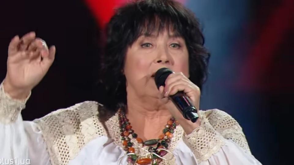 «Молодим – дорогу»: 69-річна волинянка вибула із «Голосу країни». ВІДЕО