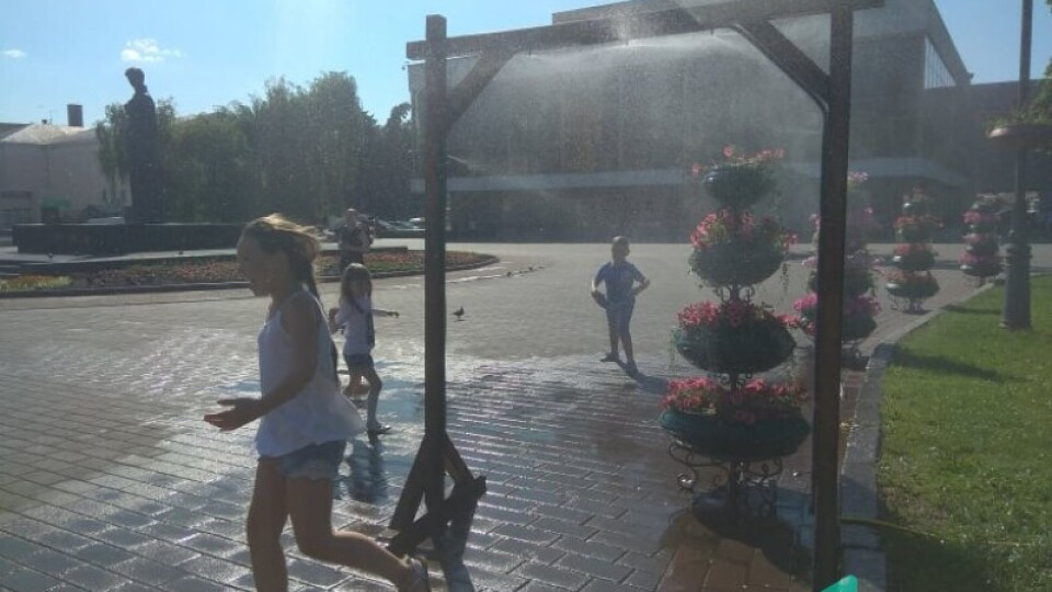У Луцьку встановлять водяні завіси і цього року. Де саме?
