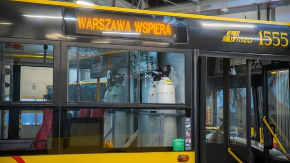 У Варшаві з'явилися автобуси для перевезення пасажирів із COVID-19
