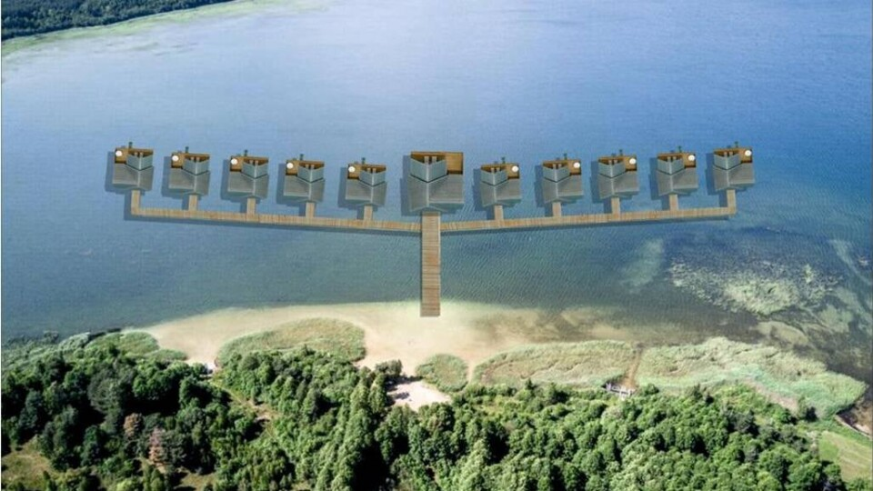 На Світязі планують збудувати будинки над водою