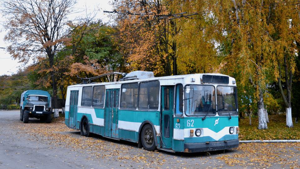 Як у Луцьку з металобрухту роблять тролейбуси. ФОТО