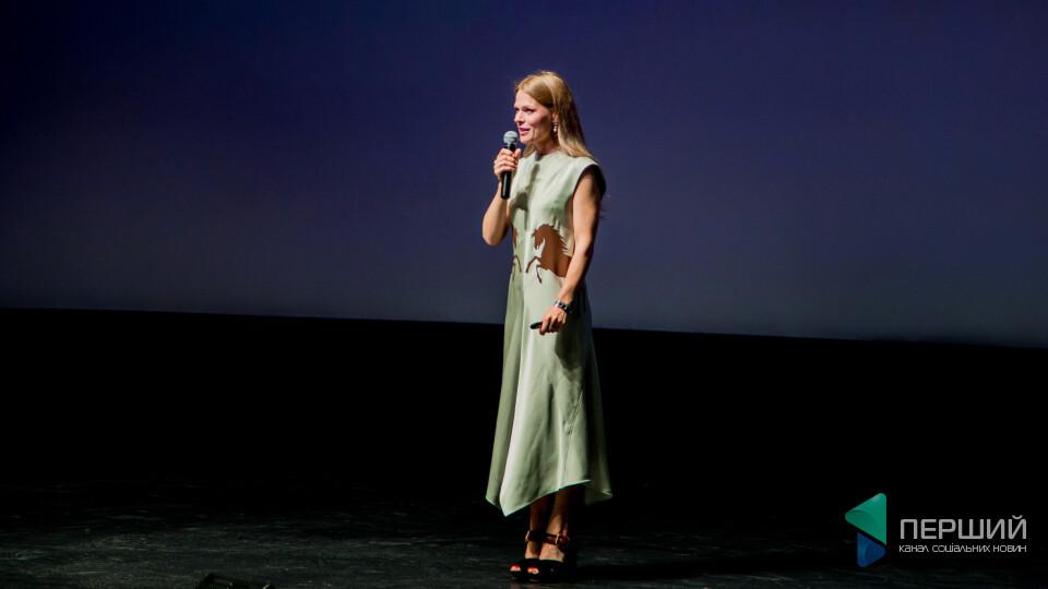 Ольга Фреймут розповіла, як з «Ревізором» встановила у Луцьку рекорд