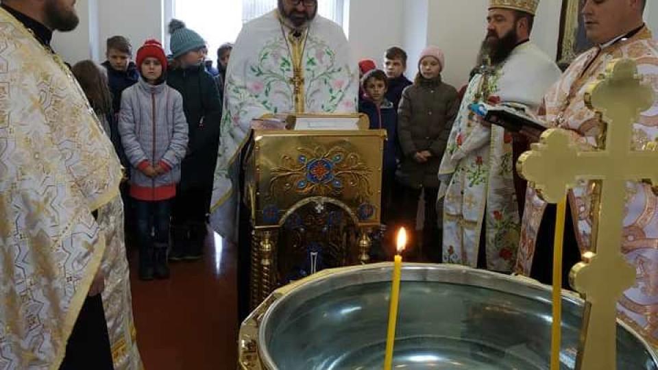 У селі на Волині відкрили капличку для хрещення дітей. ФОТО