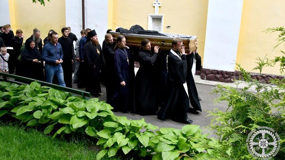 У Луцьку попрощалися зі священником та семінаристом, які загинули у аварії