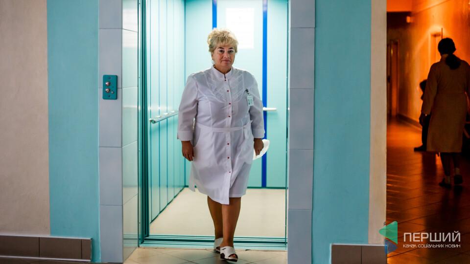 Героїня місяця на «Першому» – лікарка Ганна Колесник