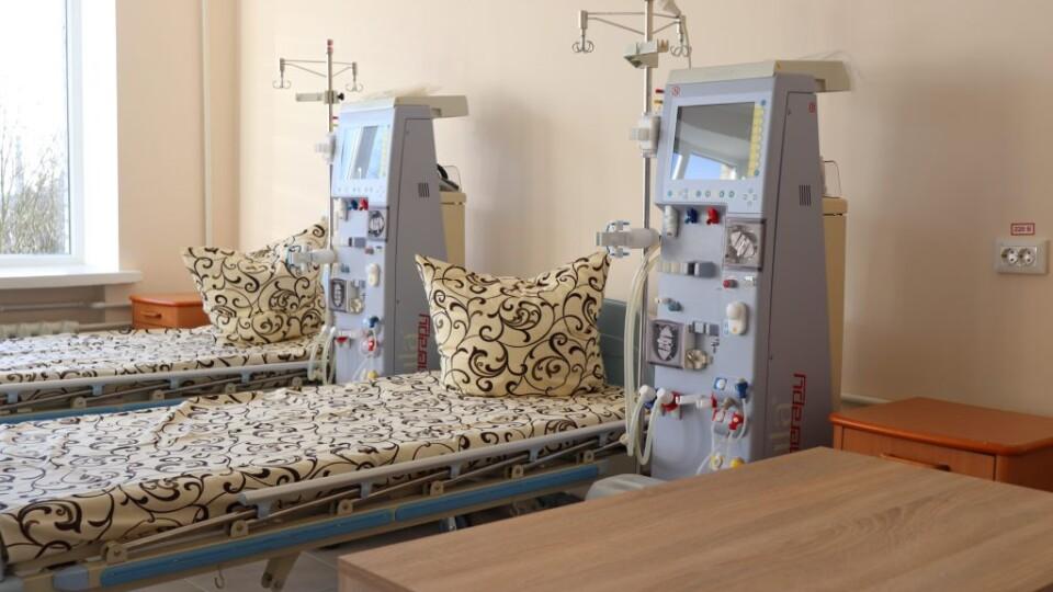 Апарати «штучної нирки» за 4 мільйони. У Володимирі-Волинському відкрили відділення гемодіалізу