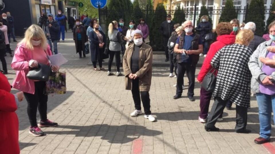 У Луцьку понад пів сотні підприємців вийшли на протест