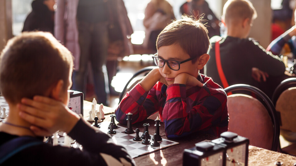 Як у Луцьку змагалися юні шахісти. ФОТО