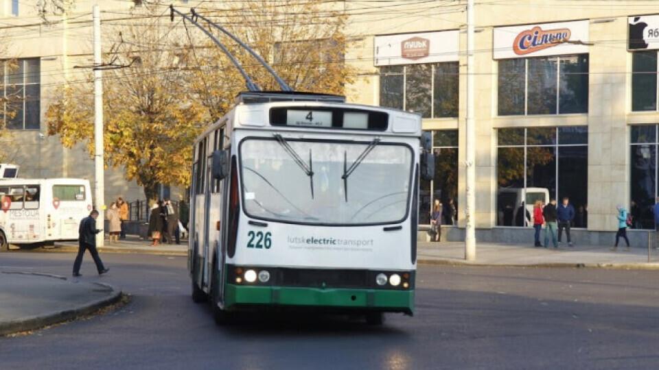 Тролейбуси №4 та №4а курсують за звичним маршрутом