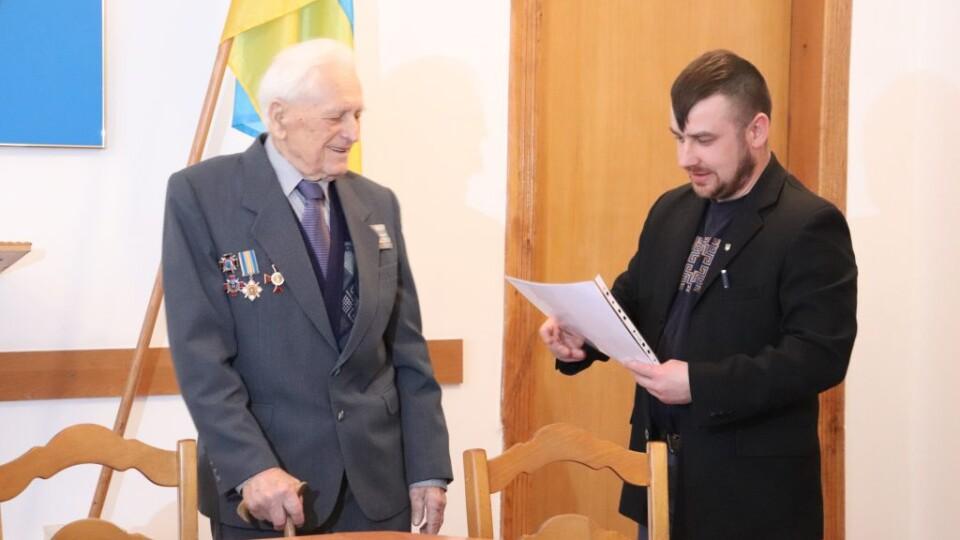 97-річному воїнові УПА з Волині вручили документи про реабілітацію