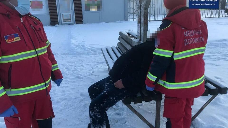 На Волині врятували двох чоловіків, які могли замерзнути