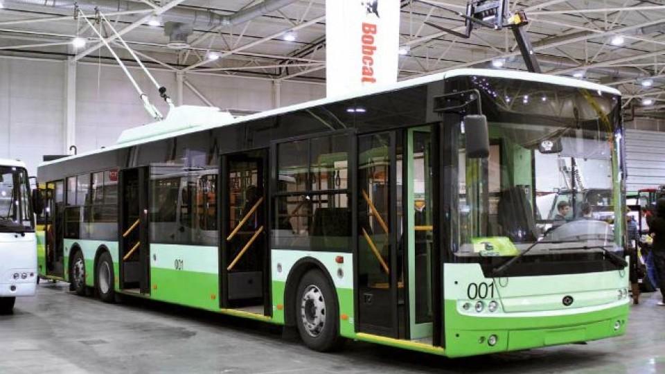 Новенькі тролейбуси луцького заводу їздитимуть у Сумах