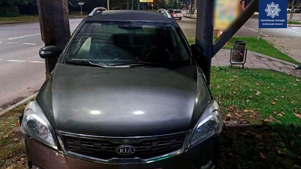 П'яний лучанин викрав машину з автомийки і спричинив ДТП