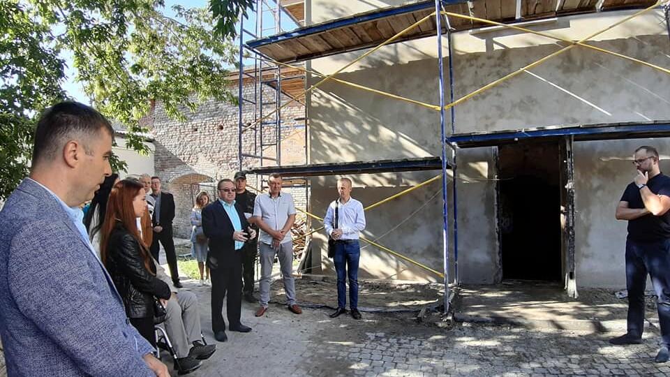 У Луцьку в Старому місті відкрили галерею між підземеллями, яку нещодавно розкопали