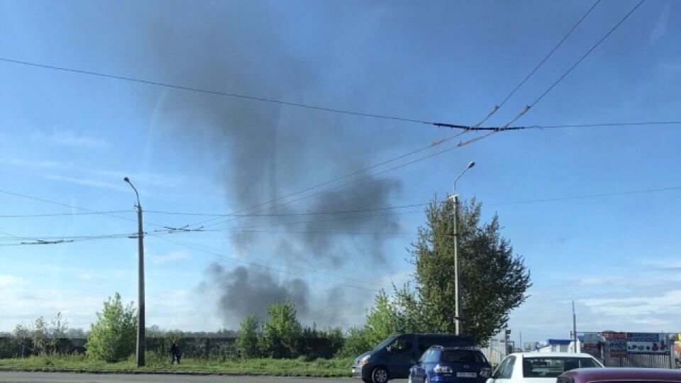 Вересневе потерпає від цукрового заводу: дим помітно з інших мікрорайонів