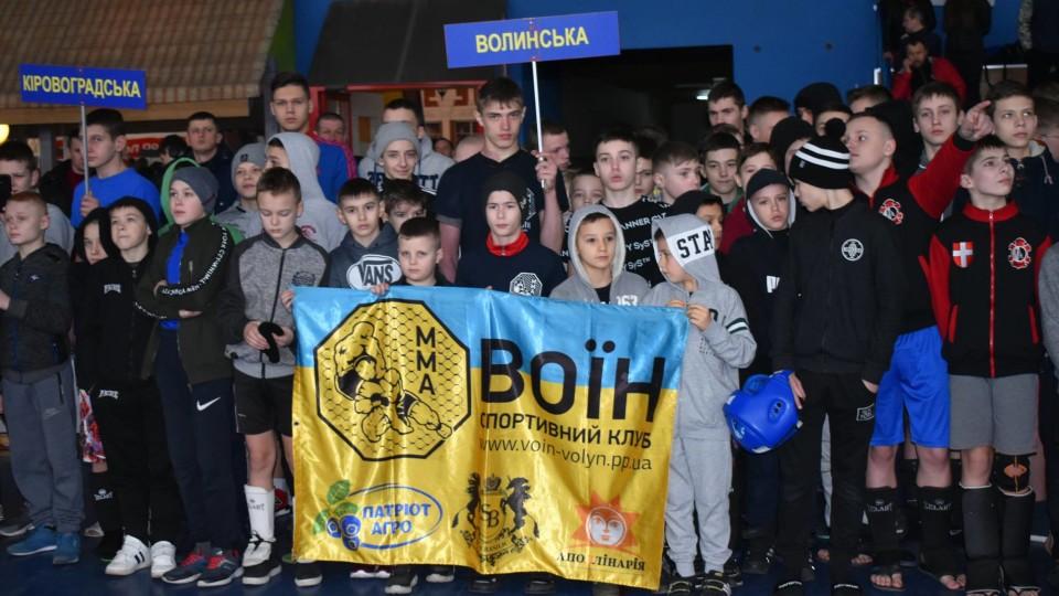 У Луцьку стартував чемпіонат України з ММА. ФОТО