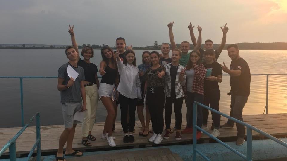 Молодіжній раді Луцька влаштували навчання у Хрінниках. ФОТО